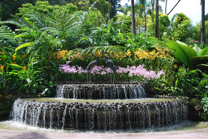 pedras jardim botanico:Water Garden Waterfall Design Ideas
